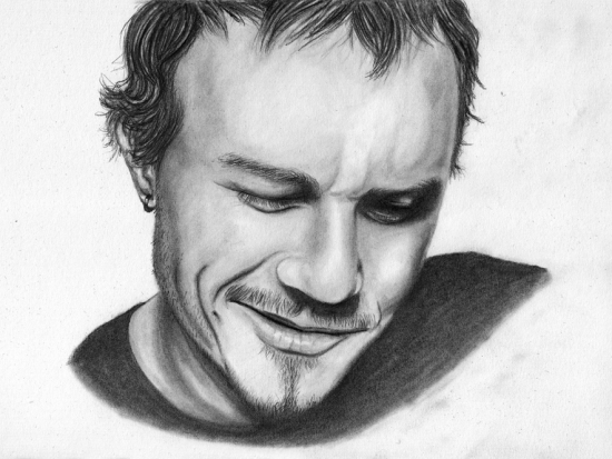 Heath Ledger par Juicefine